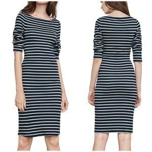 BCBGMAXAZRIA Striped Briza Midi Dress
